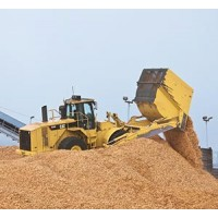 Caterpillar 834H Wood Chip Scoops